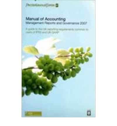 ISBN: 9781841408323 - Management Reports and Governance 2007