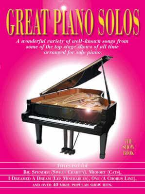 ISBN: 9781846090462 - Great Piano Solos - The Show Book