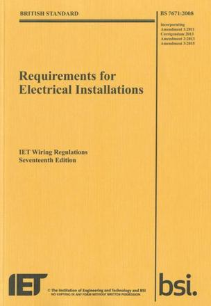 ISBN: 9781849197694 - Requirements for Electrical Installations, Iet Wiring Regulations, BS 7671:2008+A3:2015