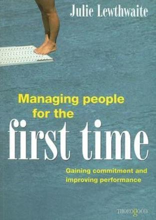 ISBN: 9781854183323 - Managing People for the First Time