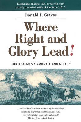 ISBN: 9781896941035 - Where Right and Glory Lead!