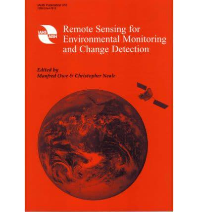 ISBN: 9781901502244 - Remote Sensing for Environmental Monitoring and Change Detection