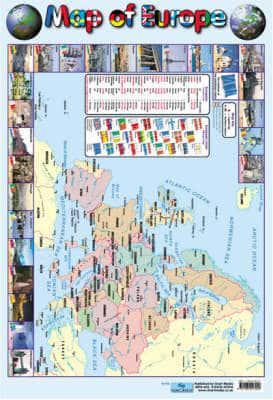 ISBN: 9781904217053 - Map of Europe