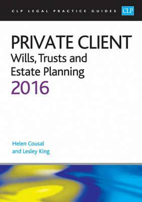 ISBN: 9781910661666 - Private Client 2016