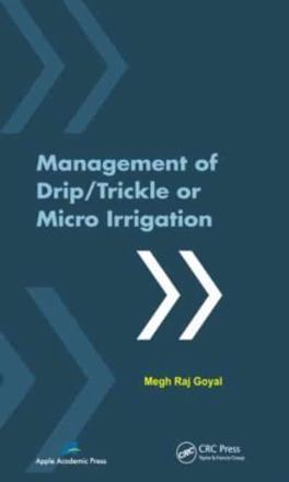 ISBN: 9781926895123 - Management of Drip/trickle or Micro Irrigation