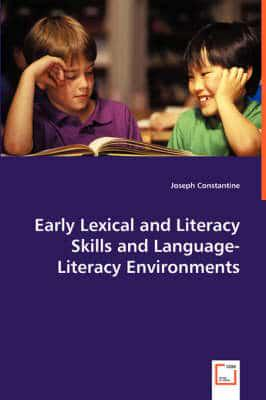 ISBN: 9783639018301 - Early Lexical and Literacy Skills and Language-Literacy Environments