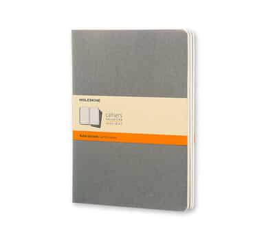 ISBN: 9788866134268 - Moleskine Pebble Grey Ruled Cahier Extra Large Journal
