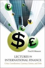 Lectures in International Finance