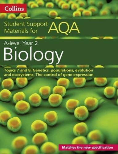 A Level Biology Support Materials. Year 2. Genetics, Populations, Evolution a...