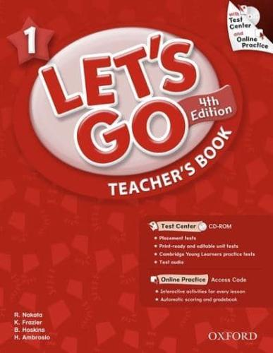 Let's Go: 1: Teacher's Book With Test Center Pack by Oxford University Press...