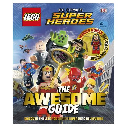 LEGO DC Comics Super Heroes the Awesome Guide by DK (Hardback, 2017)