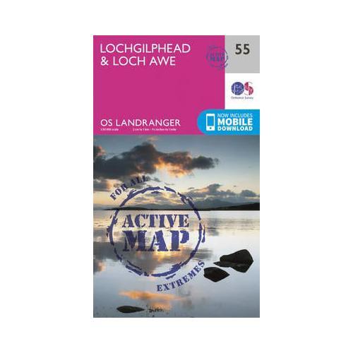 Lochgilphead-amp-Loch-Awe-by-Ordnance-Survey-Sheet-map-folded-2016