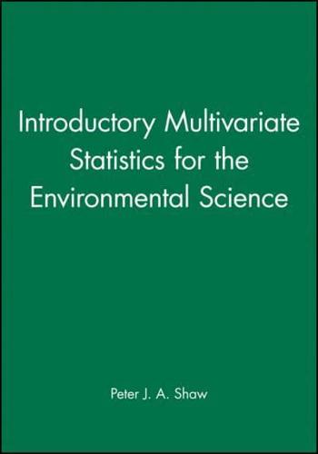 Introductory-Multivariate-Statistics-for-the-Environmental-Science-by-Peter-J