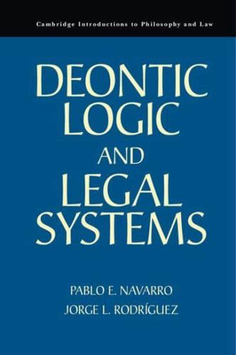 Deontic-Logic-and-Legal-Systems-by-Pablo-E-Navarro-author-Jorge-L-Rodrigue