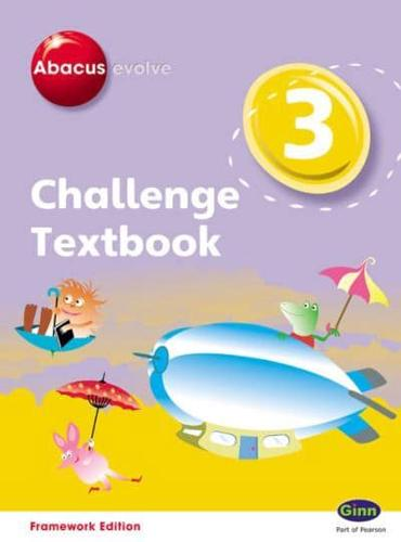 Abacus Evolve. 3 Challenge Textbook by Pinel, Adrian
