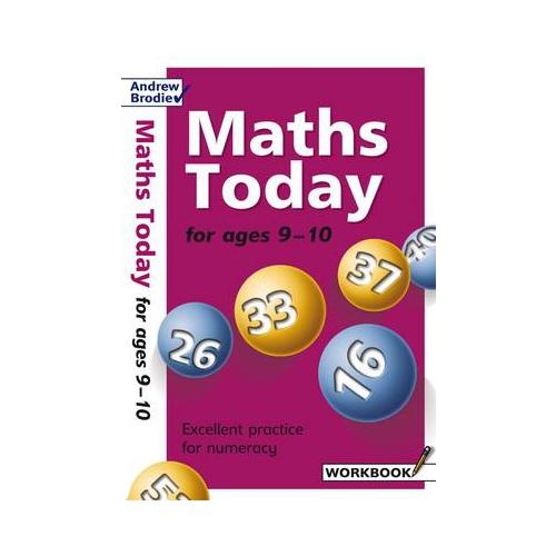 Maths-Today-for-Ages-9-10-by-Andrew-Brodie-author