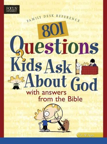 801 Questions Kids Ask about God by Tyndale House Publishers(Paperback /...