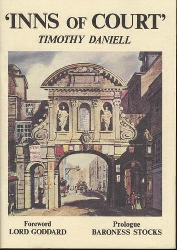 Inns of Court by Timothy Daniell (author)