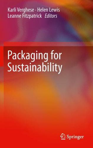 Packaging for Sustainability by Springer London Ltd (Hardback, 2012)