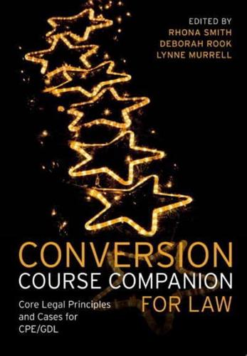 Conversion-Course-Companion-for-Law-by-Rhona-K-M-Smith-Lynne-Murrell-Debor