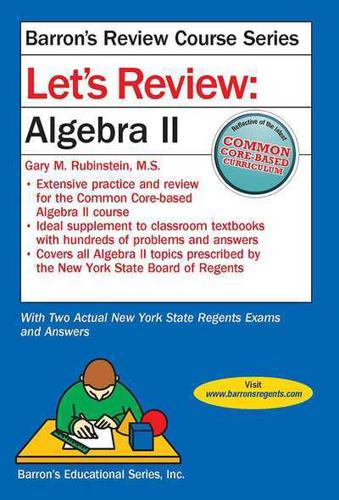 Let-039-s-Review-Algebra-II-by-Gary-M-Rubenstein-author