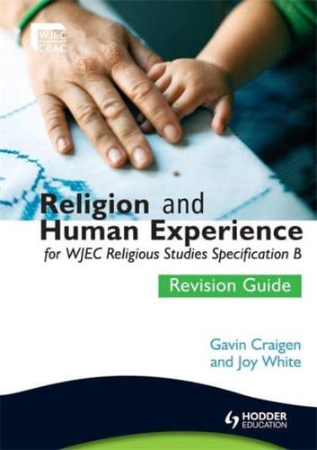 Religion-and-Human-Experience-for-WJEC-Religious-Studies-Specification-B-Rev