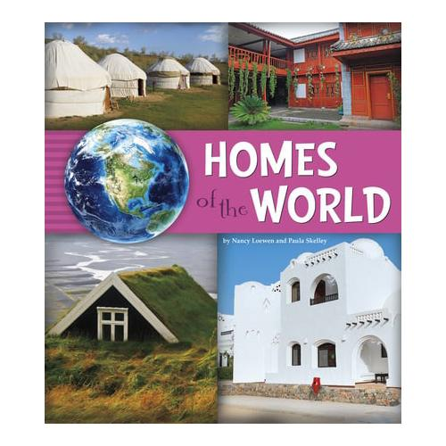 Homes-of-the-World-by-Nancy-Loewen-author-Paula-Skelley-author