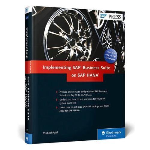 Implementing SAP Business Suite on SAP HANA by Michael Pytel (Hardback, 2016)