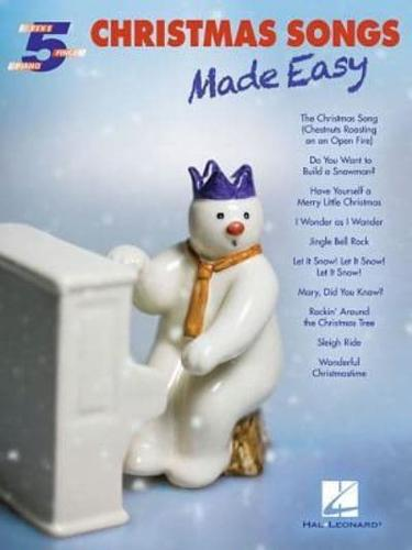 Christmas-Songs-Made-Easy-by-Hal-Leonard-Publishing-Corporation-Paperback