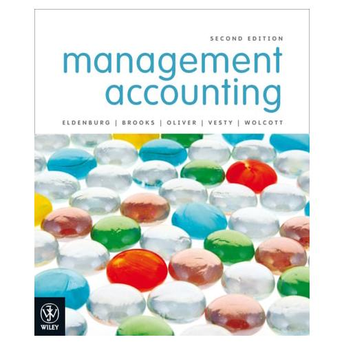 Management Accounting by Albie Brooks, Gillian Vesty, Susan Wolcott, Judy...