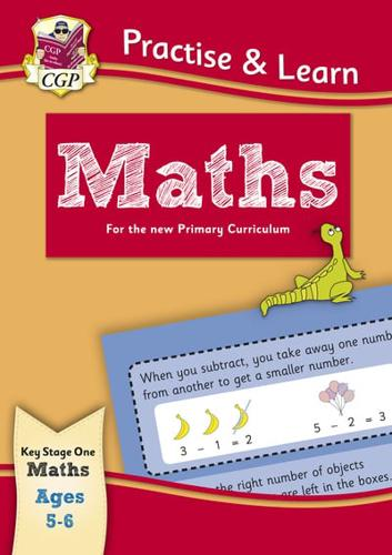 New-Practise-amp-Learn-Maths-for-Ages-5-6-by-CGP-Books-CGP-Books-editor