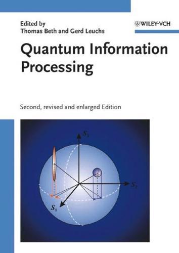 Quantum Information Processing by Wiley-VCH Verlag GmbH (Hardback, 2005)