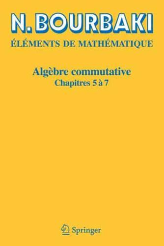 Algebre-Commutative-by-N-Bourbaki-author