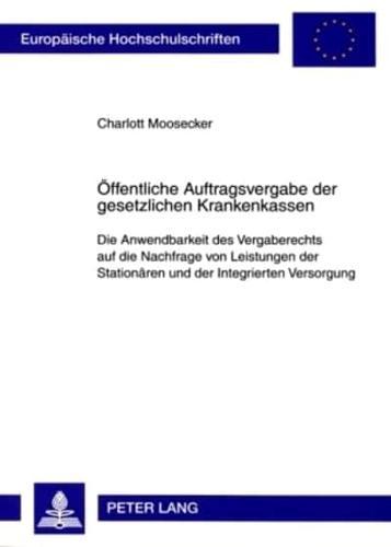 Oeffentliche-Auftragsvergabe-Der-Gesetzlichen-Krankenkassen-Die