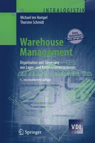 Warehouse Management by Michael ten Hompel, Thorsten Schmidt (Hardback)