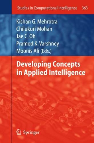 Developing Concepts in Applied Intelligence by Springer-Verlag Berlin and...