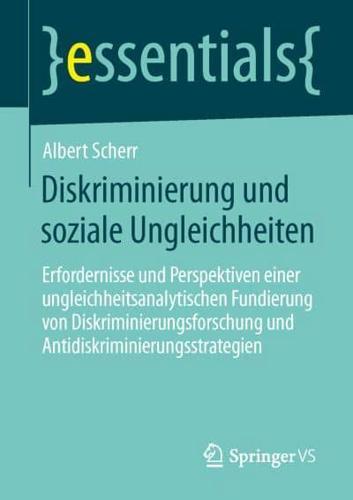 Diskriminierung Und Soziale Ungleichheiten: Erfordernisse Und Perspektiven...