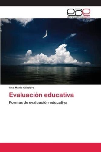 Evaluacion Educativa by Cordova Ana Maria (Paperback / softback, 2013)