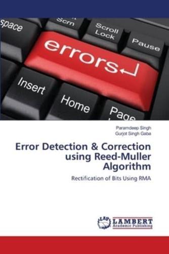 Error-Detection-amp-Correction-Using-Reed-Muller-Algorithm-by-Paramdeep-Singh