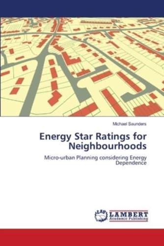 Energy-Star-Ratings-for-Neighbourhoods-by-Michael-Saunders-Paperback-2012
