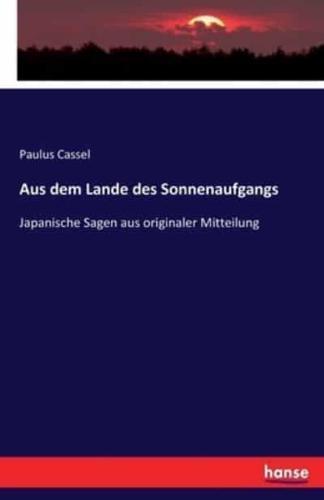 Aus-Dem-Lande-Des-Sonnenaufgangs-by-Paulus-Cassel-Paperback-softback-2016