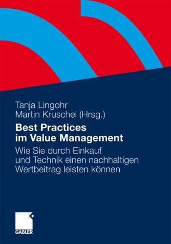 Best Practices Im Value Management: Wie Sie Durch Einkauf Und Technik Einen...