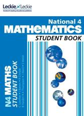 ISBN: 9780007504619 - National 4 Mathematics Student Book