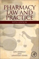 ISBN: 9780123942890 - Pharmacy Law and Practice