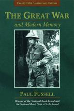 ISBN: 9780195133325 - The Great War and Modern Memory