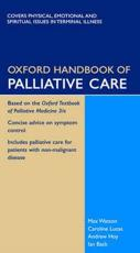 Oxford Handbook of Palliative Care