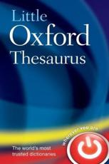ISBN: 9780198614494 - Little Oxford Thesaurus