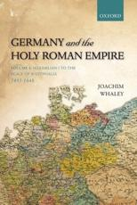 ISBN: 9780198731016 - Germany and the Holy Roman Empire (v. I)