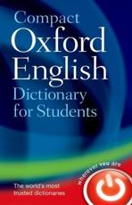 ISBN: 9780199296255 - Compact Oxford English Dictionary for University and College Students