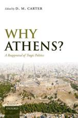 ISBN: 9780199562329 - Why Athens?